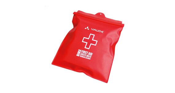 VAUDE First Aid Kit Essential Waterproof rød/Hvit